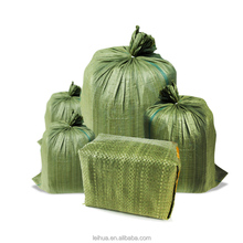 China colorful military polypropylene woven sandbag with competitive price