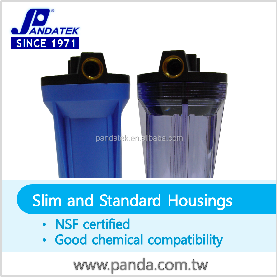 Low price home appliances, taiwan water filter big blue housing for mineral water plant