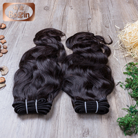 Natural Looking 6A Grade Unprocessed 100% Natural Wave Temple Raw Virgin Indian Human Hair