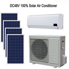 Hot protable generator price powered mini solar air conditioner for sale