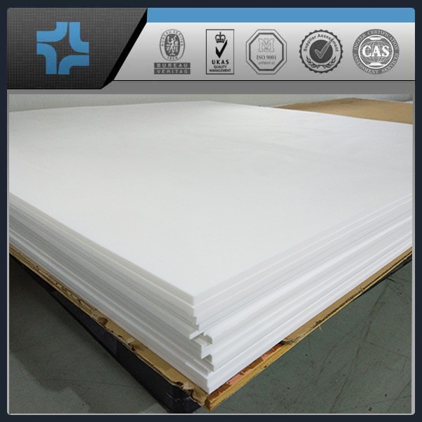 Self-lubricating White F4/PTFE Sheet