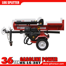 13HP Honda GX390 and 13.5hp B & S I/C engine vertical and horizontal used gas log splitters 36 ton