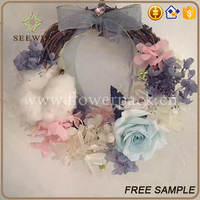 Spring Floral Wreath artificial flower wreath for wedding