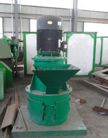 Chemical fertilizer crushing machine - vertical grinder