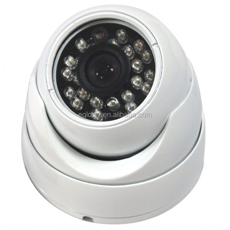 1/3 Sharp Ccd 420Tvl Cctv Wide Angle Surveillance Ip66 Ir Color Dome Bus DVR Camera With Audio