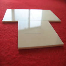 99.7% alumina polishing ceramic substrate 50*50*5mm