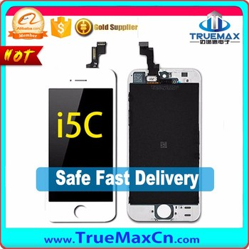 China Factory LCD With Touch Screen Digitizer for iPhone 5C, Display for iPhone 5C