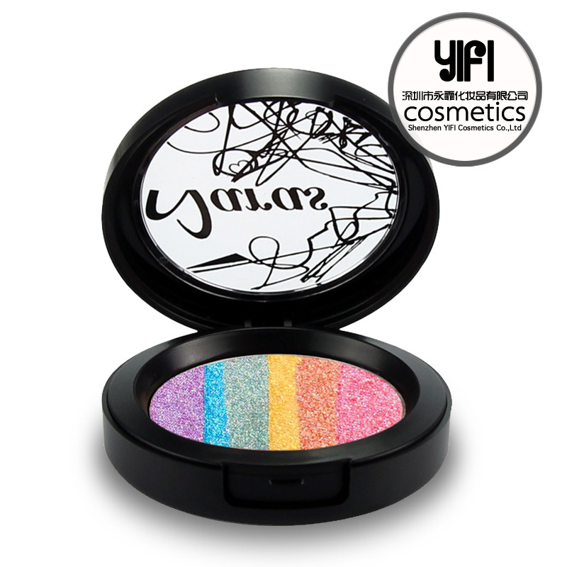 Hot sale Naras prism highlighter makeup palette private label eyeshadow palette
