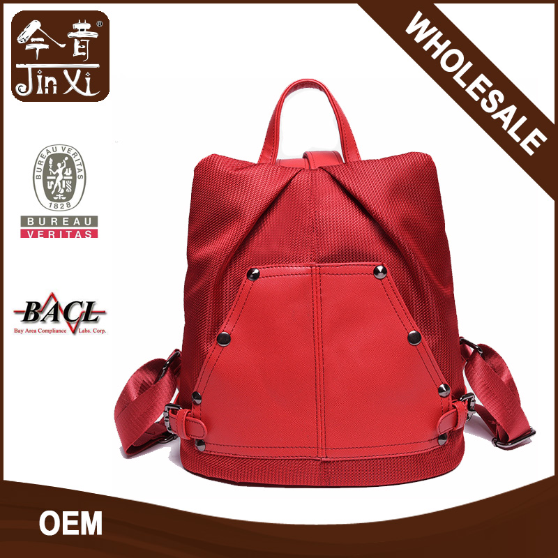 Hot Selling 2016 Fashion Silk nylon backpack