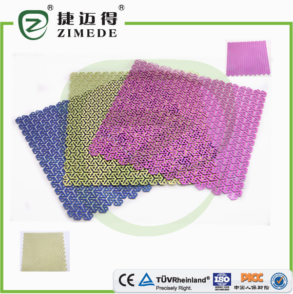 High quality hospital orthopedic titanium Wire Mesh implants titanium surgical mesh mesh