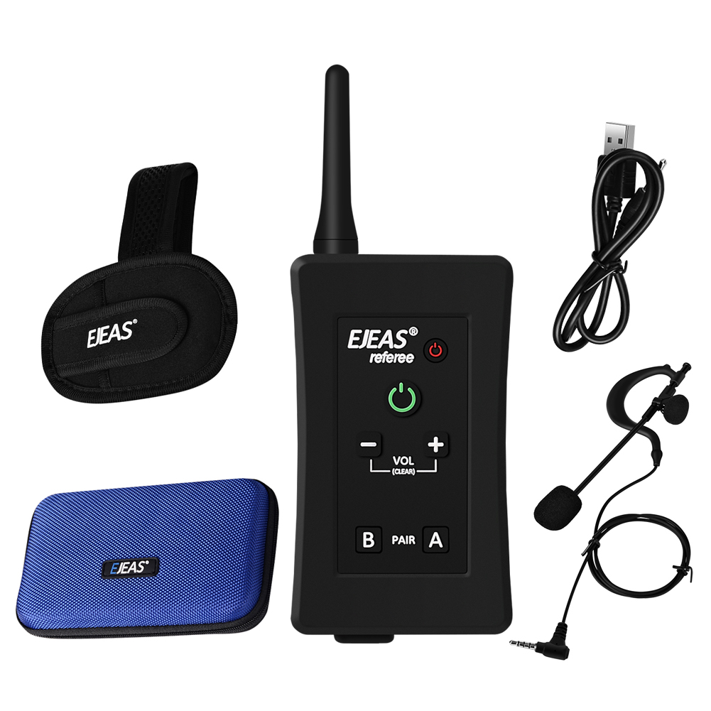 Best Selling EJEAS Football Referee Intercom Handsfree Communication On Arm