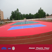 Hot sell Durable Outdoor interlocking PP basketball court sports flooring