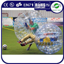 2015 CE certificate hop sale PVC or TPU human water bubble ball, crazy loopy ball, tpu bubble football