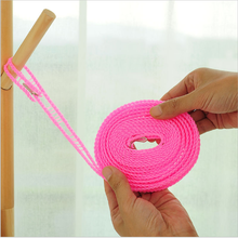 Creative space-saving no-slip windproof portable clothes hanging rope