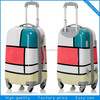 2014 New Design ABS/PC trolley luggage with 4 universal wheels for man/girl/KIDS