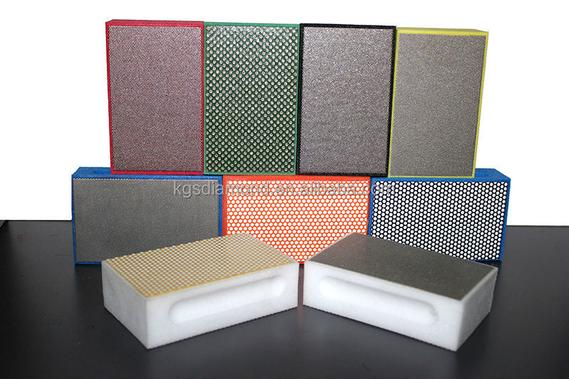 Diamond Abrasive Polishing Grinding Glass Hand Pad
