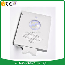 12w high lumens stand alone smart led solar power street light