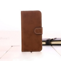 Top grade hot sell slim pu leather flip case for iphone5