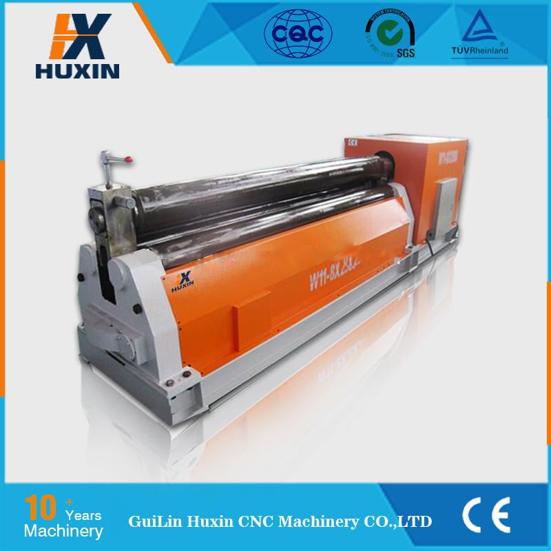 W12 50x3000 Thickness plate rolling machine