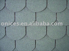 Crescent asphalt shingle