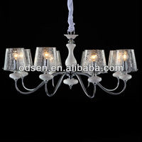 transparent glass lampshade clean hospitality lighting
