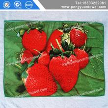 disposable cotton printed kitchen towels