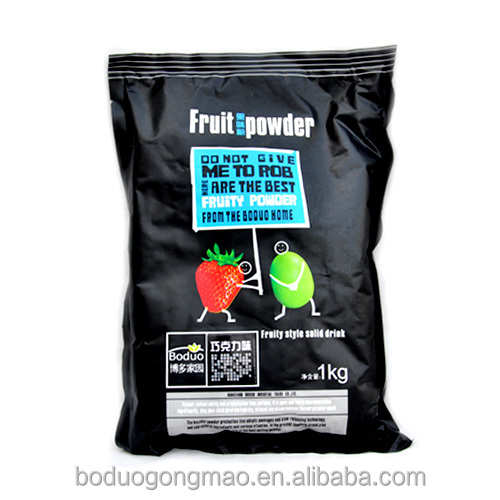 Best selling of chocolate fruit powder for drinks