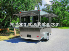Food Truck/Mobile Food Carts/Food Van Caravan Vending machine Chinese food truck