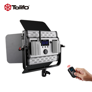 Tolifo 36W Professional Portable Slim LED Video Light Studio Video Lighting Interview Shooting Photography