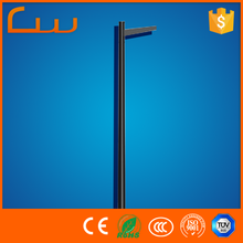 6m installation street LED light pole without lamp heads