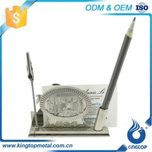 Exceptional Quality Oem Production Metal Gift Cities Card Holders Wholesale For Gift