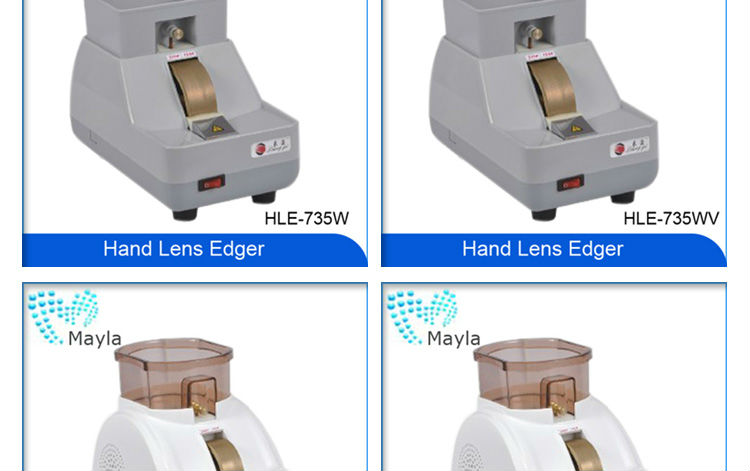 High quality optical lens edger HLE-730 with low price