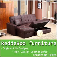 modern style sofa bed furniture in dark brown