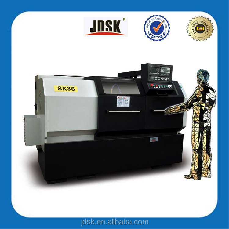 cnc lathe machine specification and horizontal cnc lathe for making components with Numerical controller system SK36