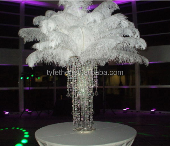 Natural Ostrich Feather Used To Decorate