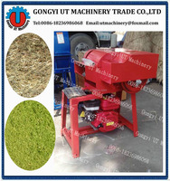 Gasoline engine grass chopper machine