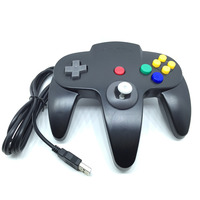 Classic N64 USB Wired Game Controller for Nintendo 64 PC and MAC