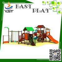 Customized Plastic Playground Slides Children Play