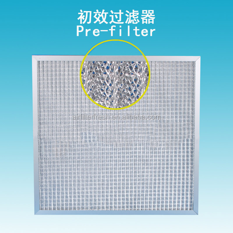 FRESH pre filter washable metal meshair diffuser ceiling filter