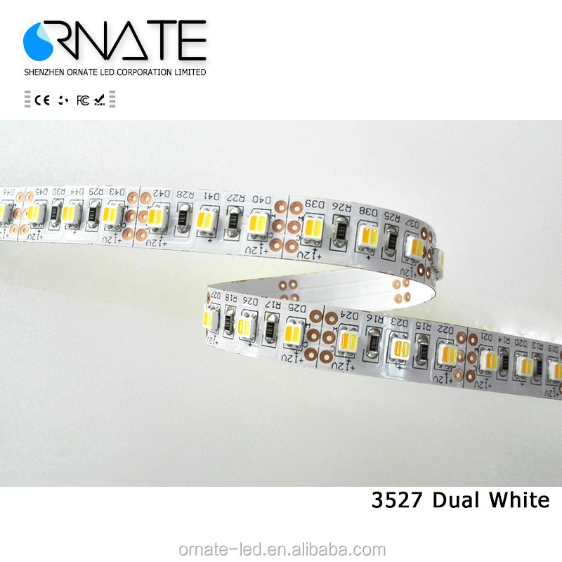 New design 12/24V led shop lights Color Temperature CCT Adjustable led flex strip