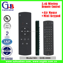 2.4G Wireless Air Mouse Mini Keypad Universal Remote Control