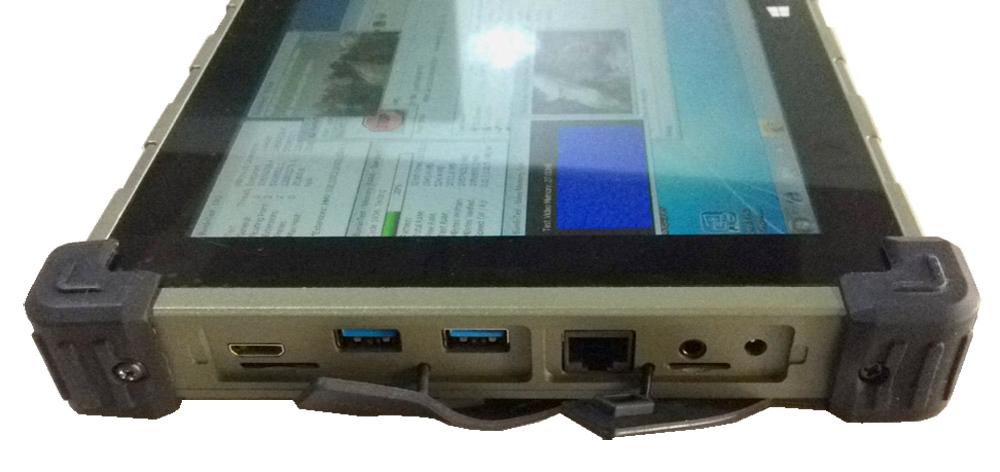 Highton Intel CPU 10 Inch Windows 7 Rugged Tablet With 1*RJ45 And 2*RS232 Rugged Computers IP65