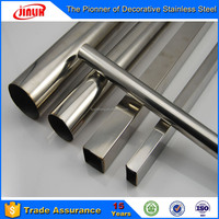 Stainless Steel Round and Square Balcony Handrail Interior Decoration Welded Pipe and Seamless Industry Tube