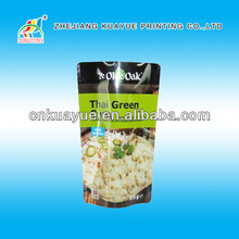 Customized New High Quality Customized Resealable Stand up Pouch with Zipper