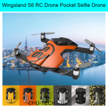 Wingsland S6 RC Drone Pocket Selfie Drone WiFi FPV With 4K UHD Camera FPV Quadcopter