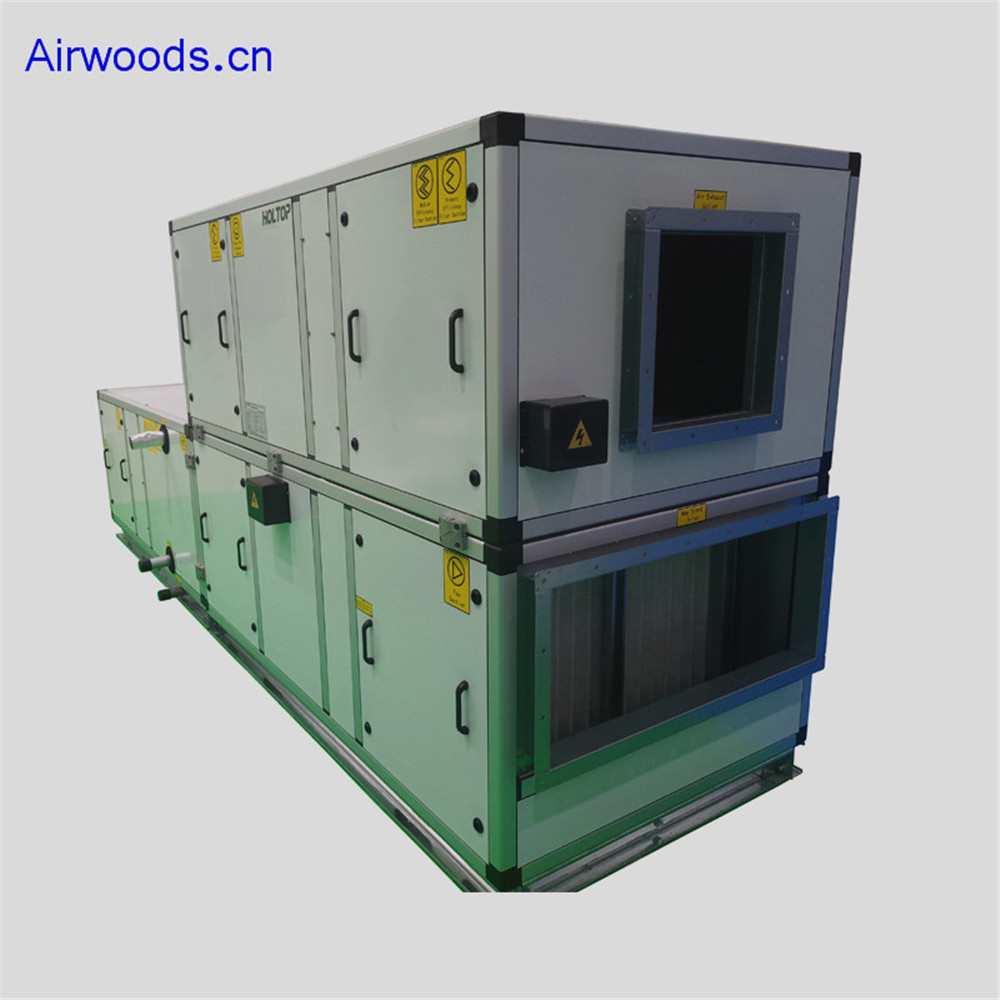 centralized hygienic air conditioning handling unit system for electronic workshop