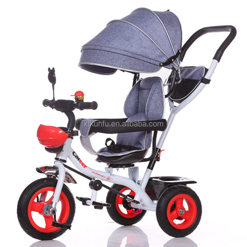 Factory Wholesale Cheap metal baby double trike