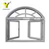 Arched casement window / Aluminium windows and doors comply with Australian & New Zealand standards
