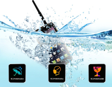 "New 3G+32G 5.5"" 8 core CPU full function industry waterproof rugged android mobile phone with NFC"