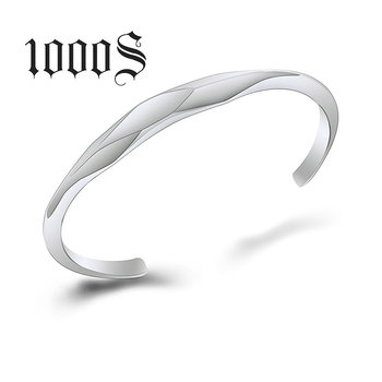 Wholesale Custom Design Open Stainless Steel Polygonal Bracelet Jewelry Unique Bangle Jewellery